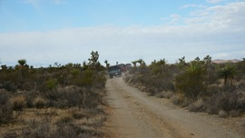 Mojave Road - Waypoint 24: Straight