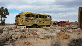 Mojave Road - Waypoint 27: Old Bus