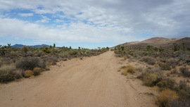 Mojave Road - Waypoint 34: Grotto Hills Road
