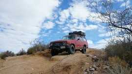 Mojave Road - Waypoint 41: Watson Wash Drop In