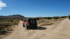 Mojave Road - Waypoint 45: Go Straight