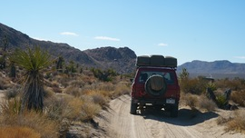 Mojave Road - Waypoint 49: Left/South