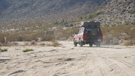 Mojave Road - Waypoint 51: To Marl Springs