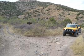Charouleau Gap / FR# 736 - Waypoint 19: Red Ridge Trailhead