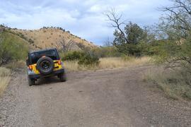 Charouleau Gap / FR# 736 - Waypoint 21: Mine Road