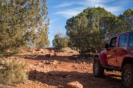Outlaw Trail - Waypoint 12: Rocky Uphill