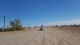 Imperial Sand Dunes Recreation Area - Glamis  - Waypoint 7: Wash Road