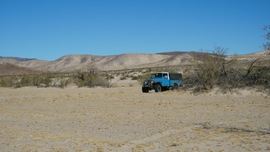 Mojave Road - Waypoint 58: Begin Fun Sandy Stretch