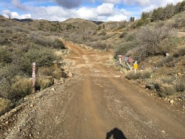 Big Maggie May Trail - Waypoint 1: Big Maggie May Trailhead