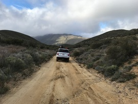 Oriflamme Canyon - Waypoint 12: Connector 3 -- Rodriguez Canyon