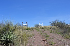 Jackson Cabin/Muleshoe Ranch Road FR #691, Arizona - Waypoint 6:  El Paso Gas Line Closed to Motorized Use