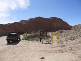 Tectonic Gorge - Ocotillo Wells SVRA - Waypoint 4: The X Files