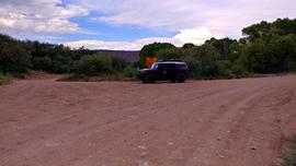 Jerome-Perkinsville Road - Waypoint 12: FR 9004W