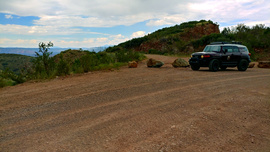 Jerome-Perkinsville Road - Waypoint 2: Old Mine Road (No Access)