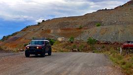 Jerome-Perkinsville Road - Waypoint 1: Trailhead