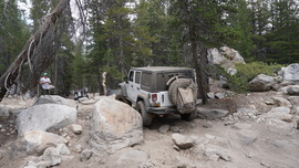 26E212 - Red Lake Trail  - Waypoint 12: Another Rock Garden