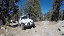 26E216 - Mirror Lake Trail  - Waypoint 2: Rocky Curve