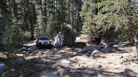 26E216 - Mirror Lake Trail  - Waypoint 11: Rocky Uphill