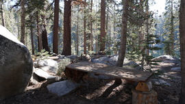 26E216 - Mirror Lake Trail  - Waypoint 13: Another Camp