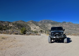 Badger Valley Loop Nevada - Waypoint 8: Intersection, Continue South on Repeater Road