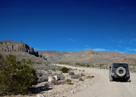 Badger Valley Loop Nevada - Waypoint 3: Canyon Road Intersection