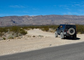 Badger Valley Loop Nevada - Waypoint 1: Trailhead, Repeater Road