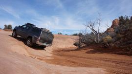 Tower Arch - Waypoint 5: Deep Sand