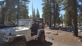 Dusy-Ershim  Trail - Waypoint 9: Thompson Lake Campground 1