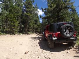 Bill Moore Lake - Waypoint 9: The Chutes - Top