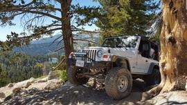 Dusy-Ershim  Trail - Waypoint 23: Whitebark Vista / Hard corner