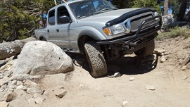 Dusy-Ershim  Trail - Waypoint 24: Rock garden