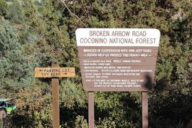 Broken Arrow - Waypoint 1: Broken Arrow Trailhead