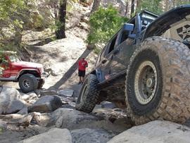 3N93 - Holcomb Creek Trail - Waypoint 9: Hard Corner Rock Garden