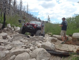 3N93 - Holcomb Creek Trail - Waypoint 7: 2N06X Rock Garden