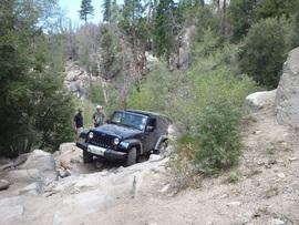 3N93 - Holcomb Creek Trail - Waypoint 6: 2N06X Cut-off