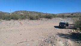 Old Black Canyon Highway - Waypoint 12: Rock Bottom Trailhead