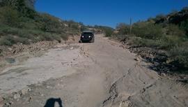 AZCO Mine Road - Waypoint 10: Rough road