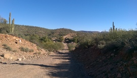 AZCO Mine Road - Waypoint 7: Agua Fria & Private road