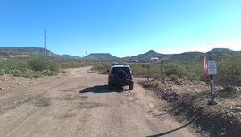 AZCO Mine Road - Waypoint 1: Table Mesa Intersection