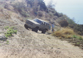 Azusa Canyon SVRA - Waypoint 8: Hill Climb Area