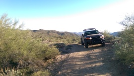 Black Canyon OHV Trail - Waypoint 8: Rocky hills