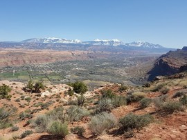 Poison Spider Mesa - Waypoint 26: Barnes Overlook Trailhead