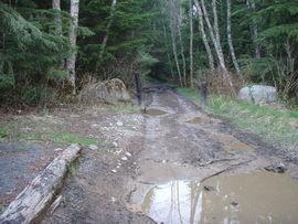 Evans Creek / Trail #102 - Waypoint 1: Trailhead
