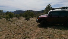 Jacks Canyon Road - Waypoint 8: Cul-da-End