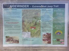 Sidewinder - Waypoint 3: Trailhead Information Sign