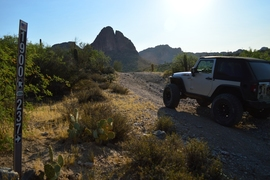 Millsite Canyon Trail - Waypoint 10: TURN RIGHT ON FR237