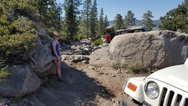 The Rubicon Trail - Waypoint 13: Hard Hill Climb aka Arnold's Rock