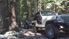 The Rubicon Trail - Waypoint 21: Cadillac Hill