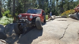 The Rubicon Trail - Waypoint 8: Soup Bowl (Restrooms)