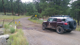 Fry Canyon Trail - Waypoint 2: Cattle Gard
